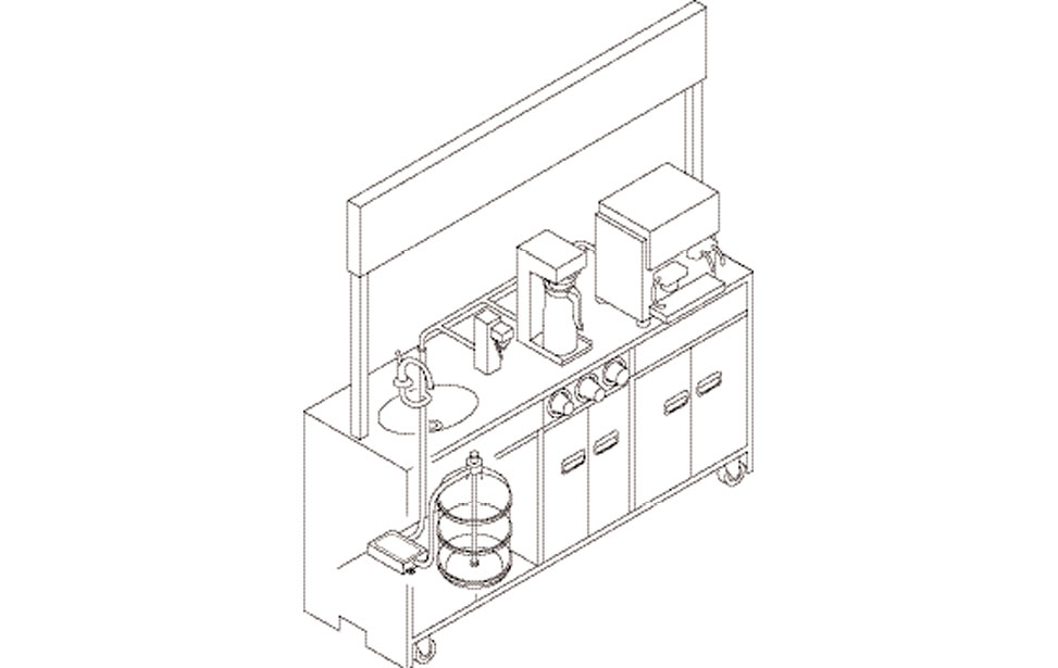 Dual Inlet Bottled Water System