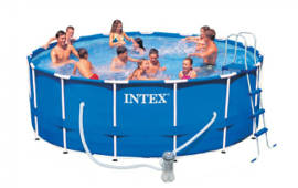 Round Metal Frame Pool 18 Feet